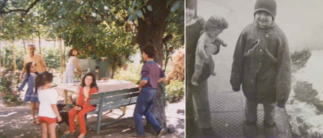 childhood collage